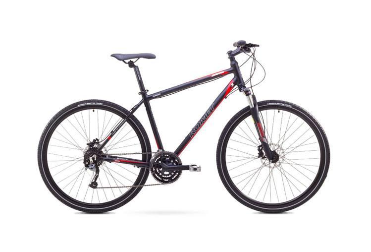 Review bicicleta hibrid Romet Orkan 3M