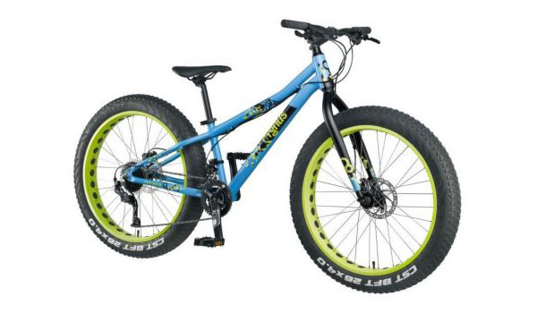 Bicicleta mountain bike cu roti groase Cygnus 26 inci