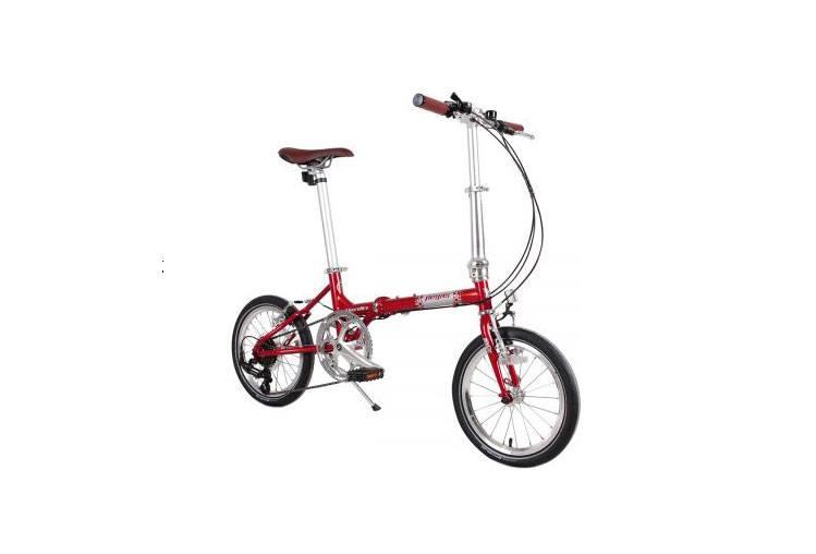Review bicicletă pliabilă Pegas Teoretic