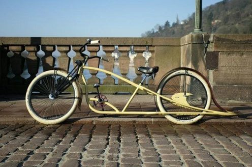 Model de biciclete de oras tip Stretch
