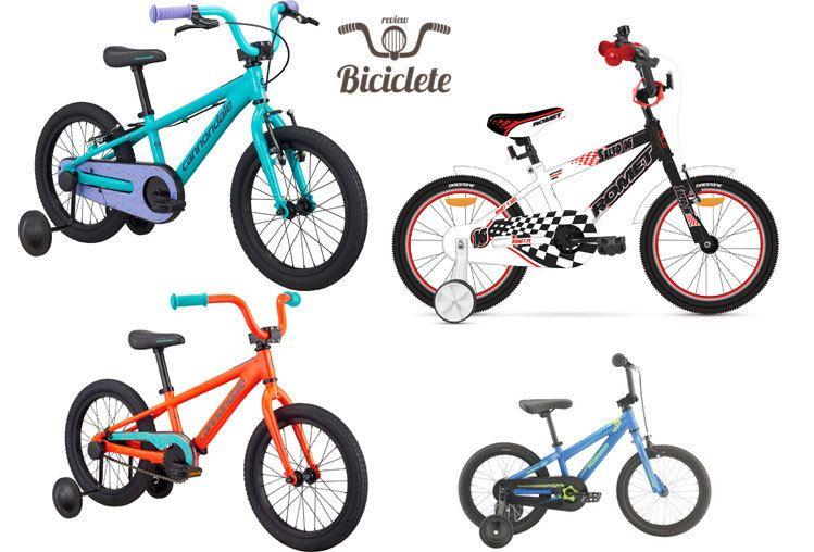 Recomandari biciclete de copii 16 inch - modele 2018