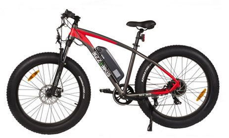 Bicicleta electrica cu roti groase Bizze Fat Bike