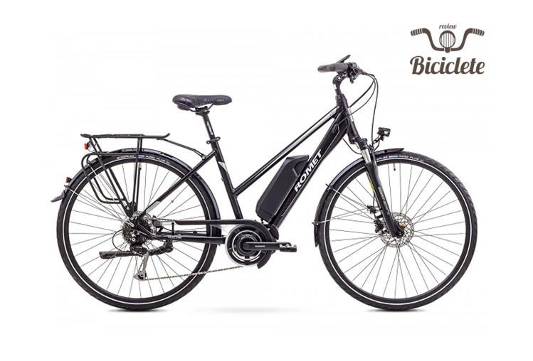Review bicicletă electrică Romet ERT 100 D