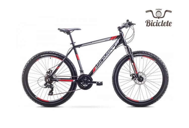 Review bicicletă de munte Romet Rambler 2018