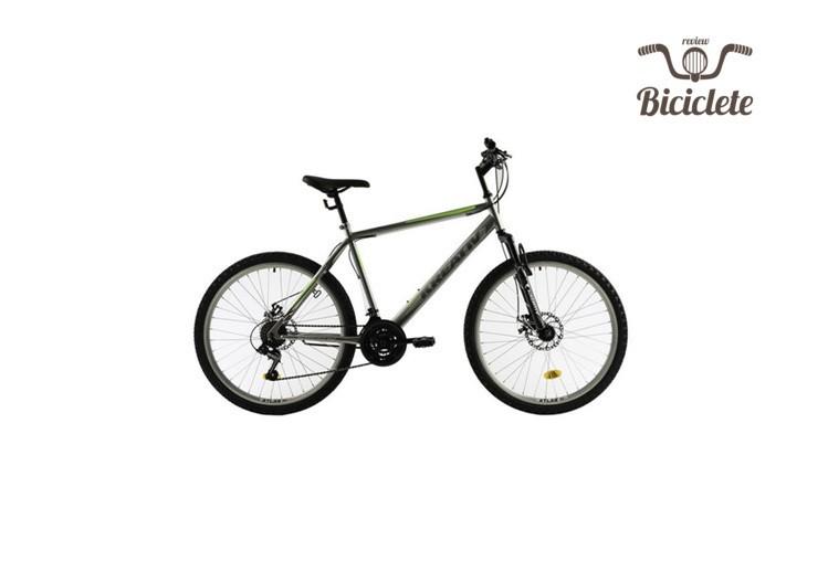 Review bicicleta hibrid DHS Kreativ 2605 2018