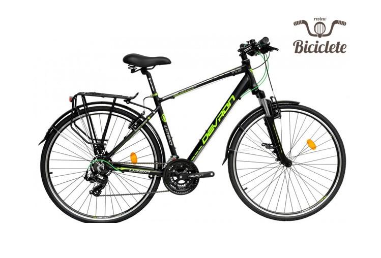 Review bicicletă hibrid Devron Urbio T1.8 2018