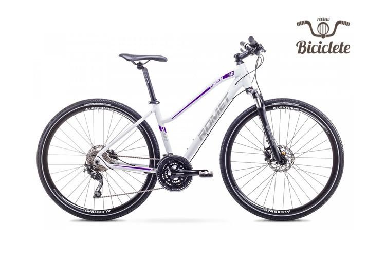 Review bicicletă hibrid Romet Orkan 5D 2018