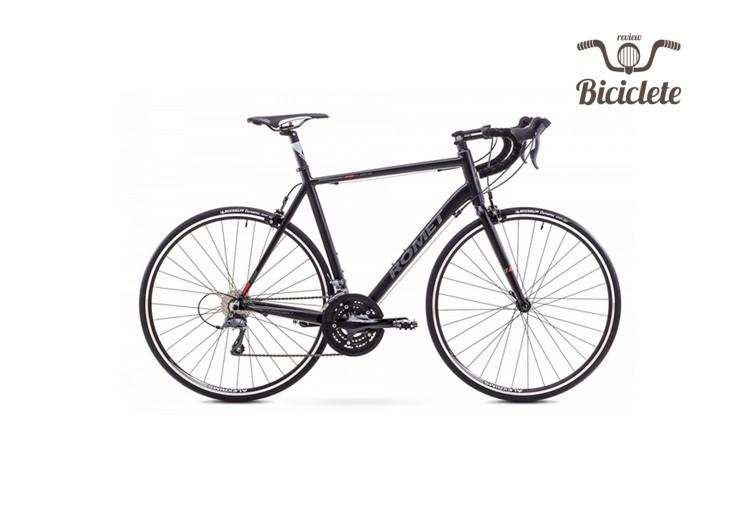 Review bicicletă de șosea Romet Huragan 1 2018