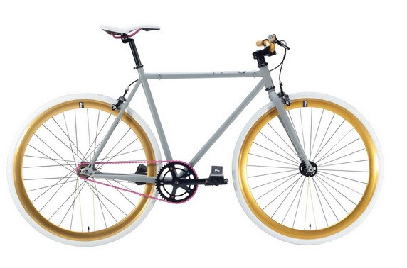 Bicicletea fixed gear Cheetah 3.0 Grey