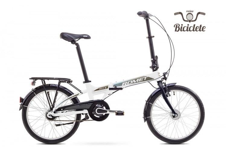Review bicicletă pliabilă Romet Wigry 8 2018